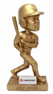 These all-gold bobbleheads will be given out at several Fightin' Phils games in 2016.