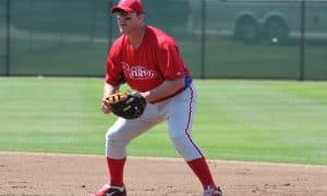 Jim Thome at Spring Training in 2012. Photo Courtesy: Brian Michael (Phillies Nation)