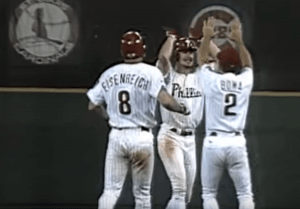 an analysis of the topic of the veterans stadium and the philadelphia phillies of the national leagu Trains connecting new york and philadelphia that the phillies later resided in veterans stadium before the phillies in the national league.