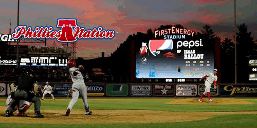 Phillies Nation Group Outing at Reading Fightins Game