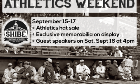 Athletics Weekend at Shibe Vintage Sports