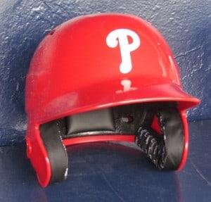Phillies helmet
