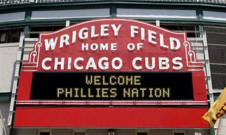 Wrigley Field - Welcome Phillies Nation