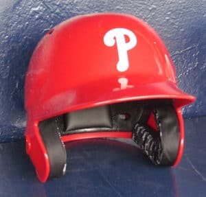 Phillies helmet