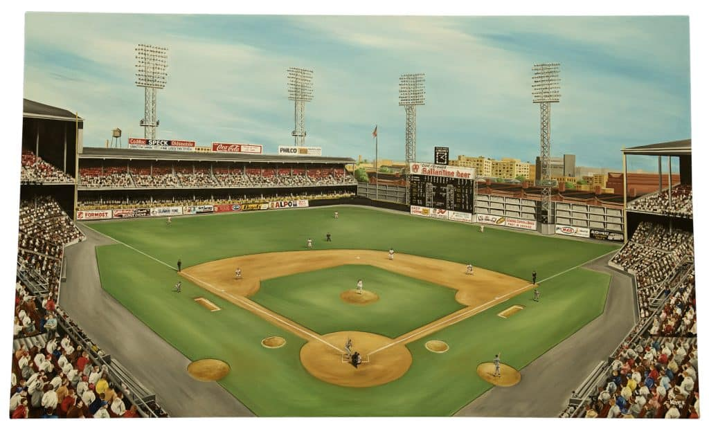 Connie Mack Stadium Mahaffey's 17-Strikeout Game by Mike Kuyper