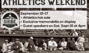 Athletics Weekend at Shibe Vintage Sports