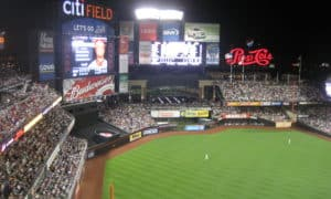 Citi Field during 2009 Phillies Nation road trip