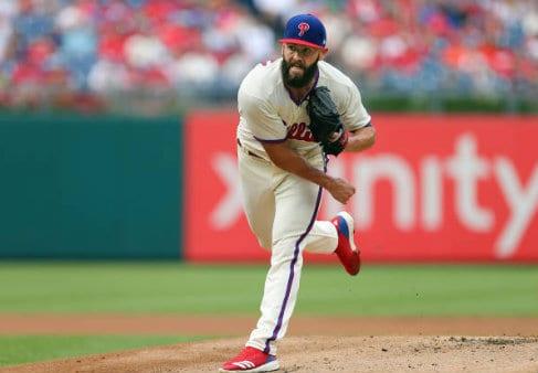 Jake Arrieta Philadelphia Phillies Baseball Player Jersey
