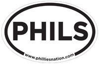 PHILS sticker
