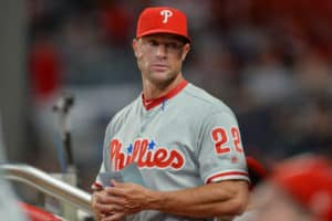 5e5443a63 Kapler rolls out the same starting lineup in Miami for the 11th time over  the first 13 games. (Rich von Biberstein Icon Sportswire)