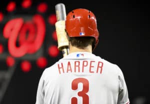bbe9cc10 Harper, Phillies head to D.C. after rough weekend in Atlanta ...