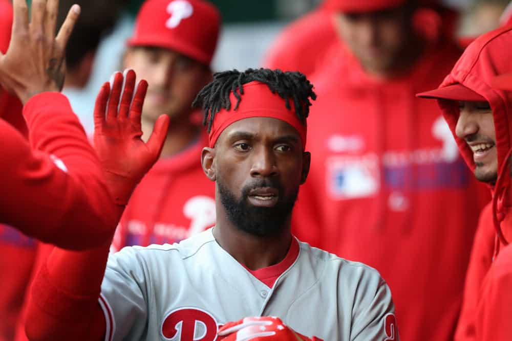 premium selection 4875d de2a2 Andrew McCutchen headed for MRI Tuesday, Adam Haseley to be ...