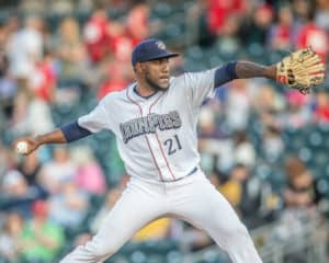 53f9cee21d81bd Minor League Mash-Up: De Los Santos strong in potential tune-ups ...