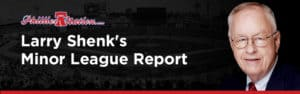 Larry Shenk - Minor League Report