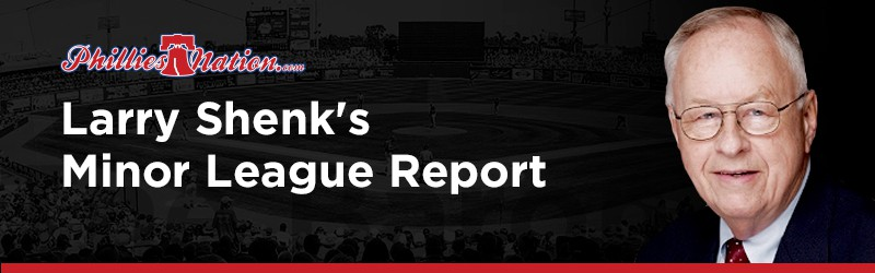 Larry Shenk - Minor League Report
