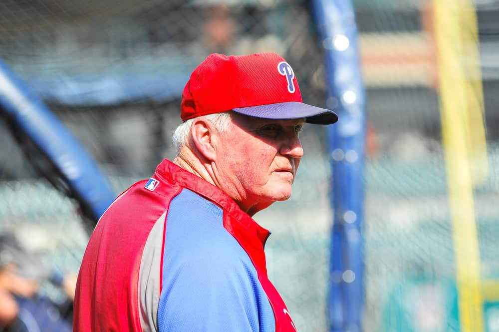 Charlie Manuel Im 75 Years Old And Nothing Bothers Me