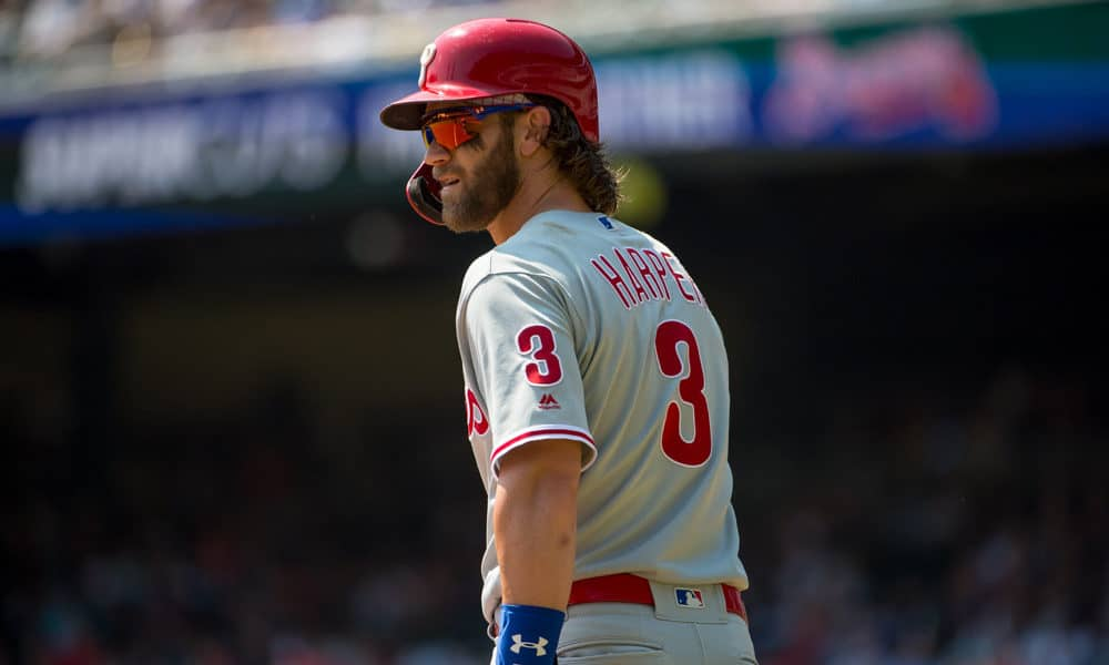Bryce Harper gives nuanced take on potentially trading for Kris Bryant