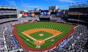 Come see the Phillies play at Yankee Stadium